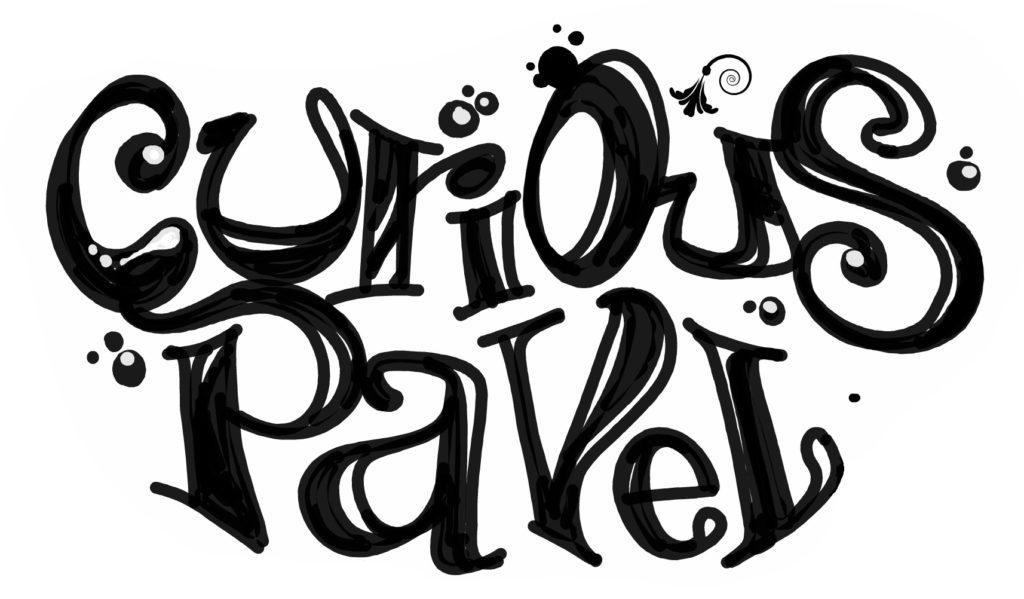 curious pavel grafitti logo