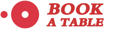 open table logo book a table button customized with red colour