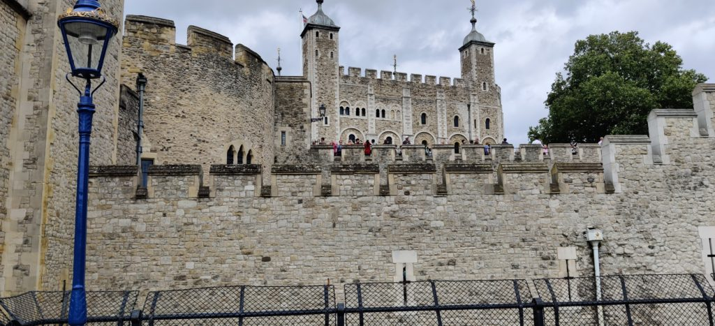 Tower of London pictured from outside